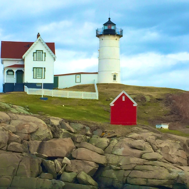 Quick stop at Nubble Lighthouse in Maine.