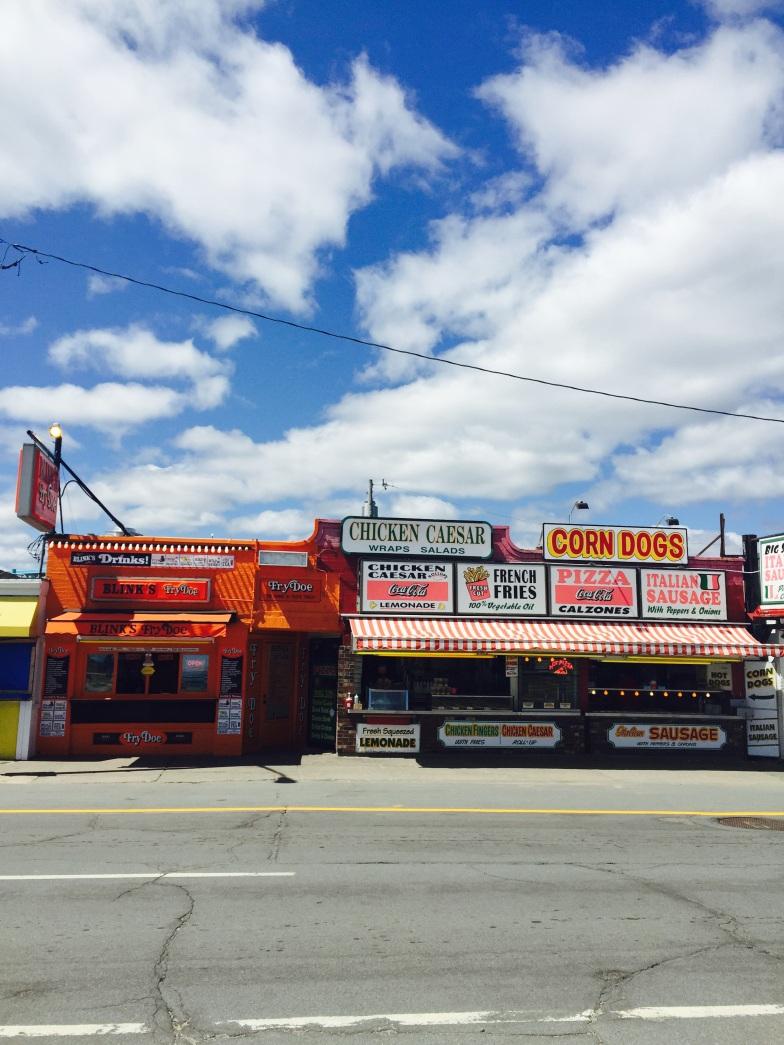 The strip at Hampton Beach, NH
