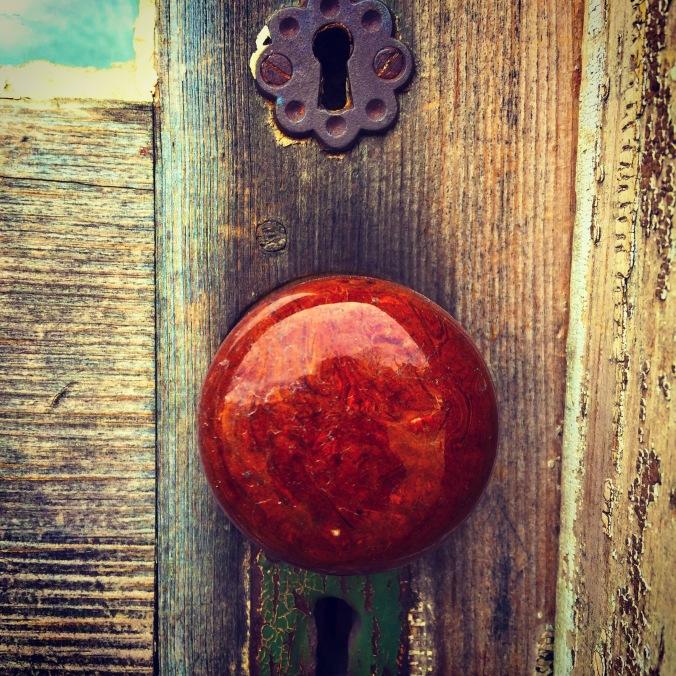 Cool, old door in ME.